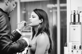 International make-up artist Karim Sattar van Dr. Hauschka