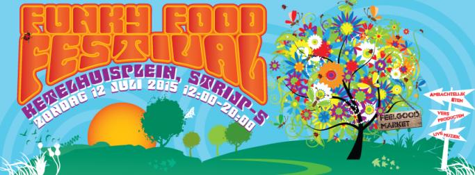 Funky Food Festival flyer