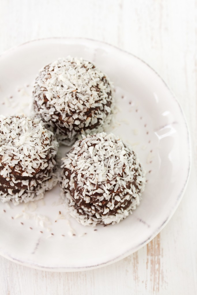 Choco coco bliss balls