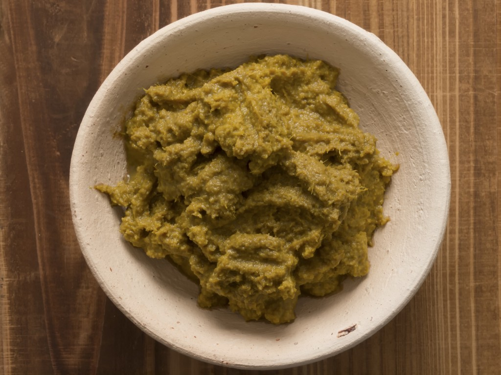 Gele currypasta & garam masala