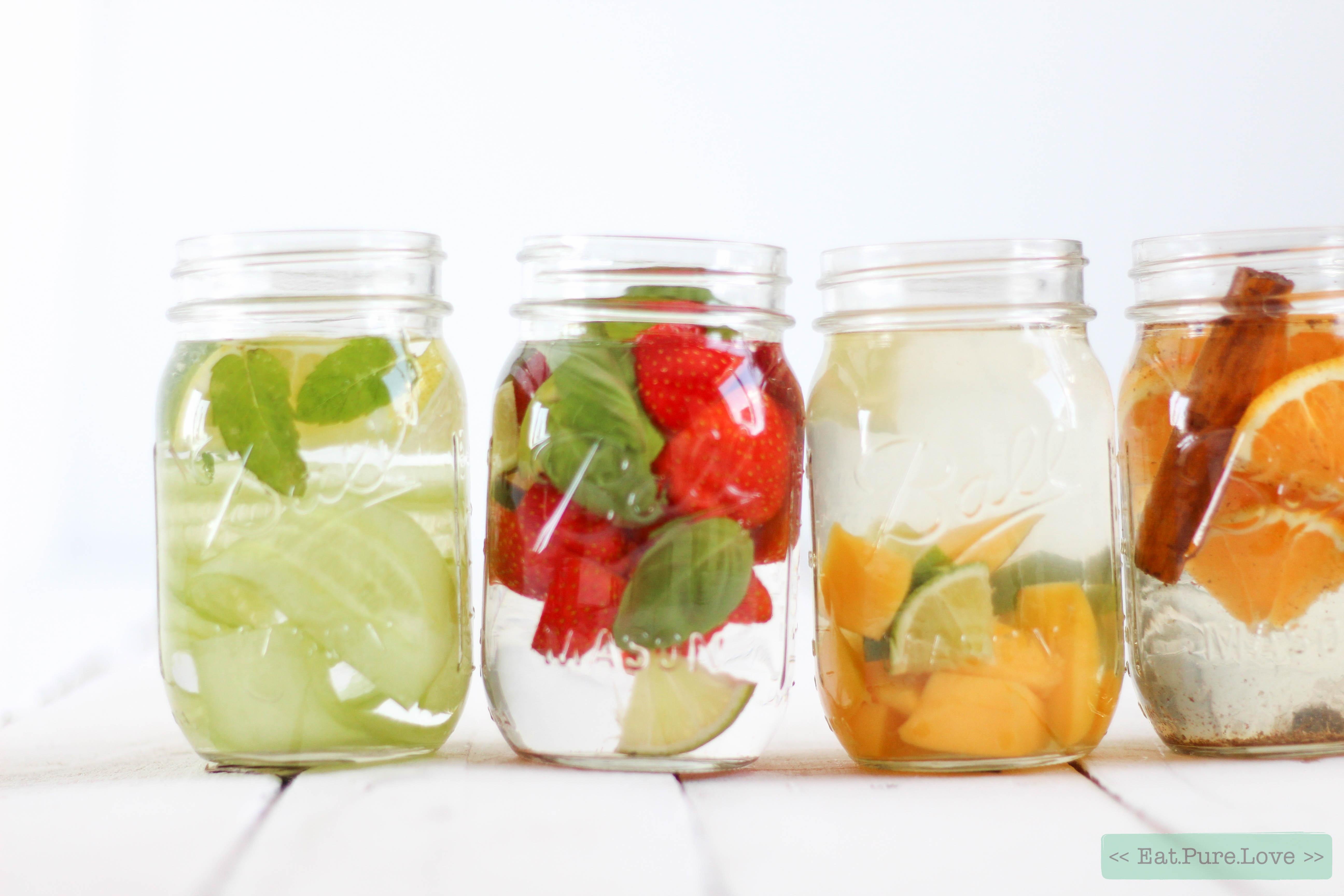Infused water - DIY lemonade