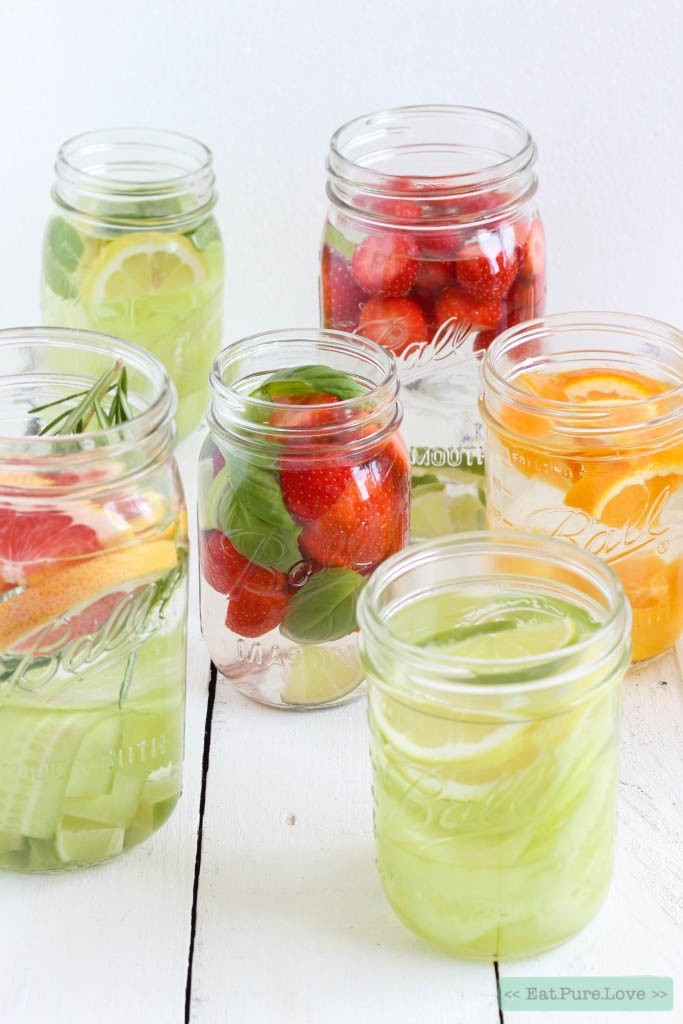 Infused water - DIY lemonade