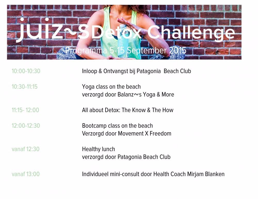 programma detox challenge