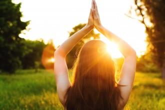 Summertime yoga is hot!