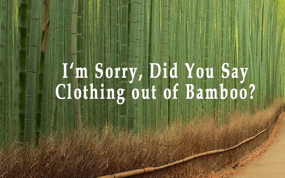 The story behind the product - Beautiful bamboe