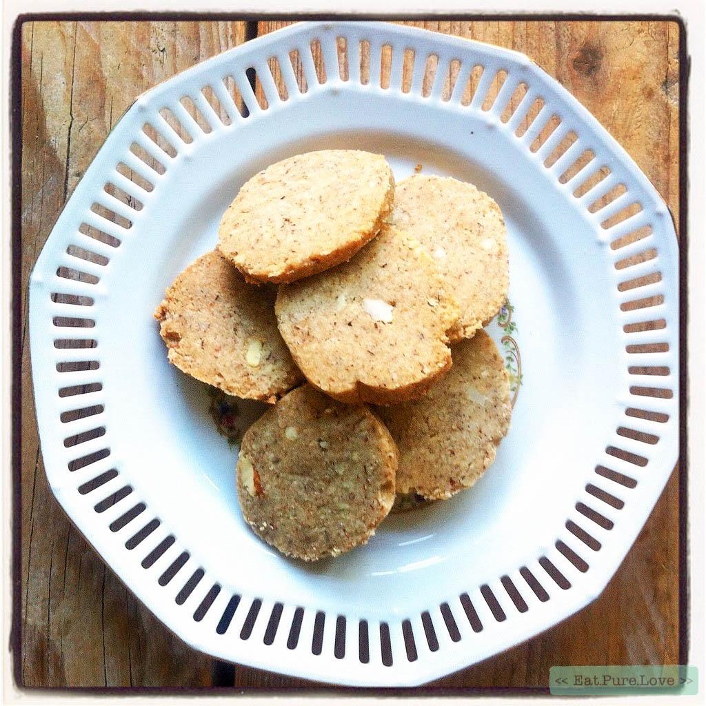 Glutenvrije en zuivelvrije notenkoekjes