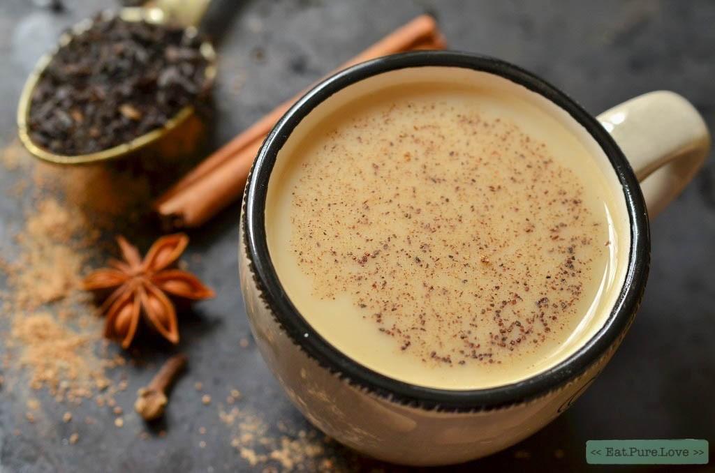 Sweet hazelnut masala chai