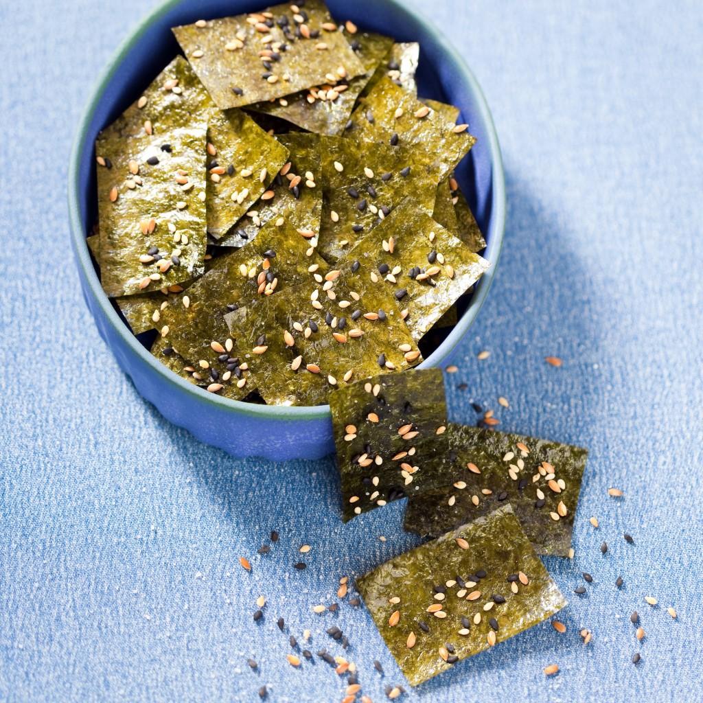 zeewier chips maken