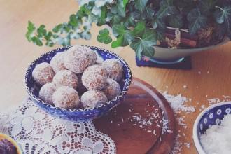 Abrikozen amandel bliss balls