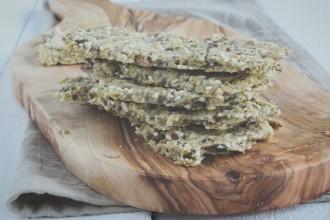 Glutenvrije crackers met Italiaanse kruiden