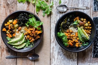 the healthy & happy bowl met wakame