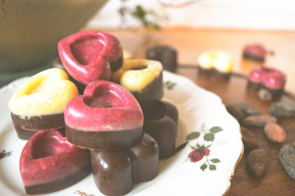 zelf chocolade bonbons maken