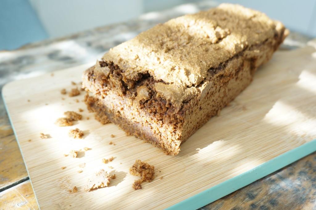 Glutenvrije en suikervrije ontbijtkoek