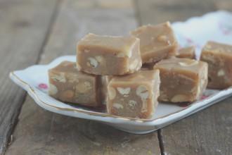 pindakaas fudge