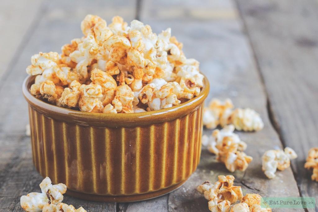 Spicy popcorn!