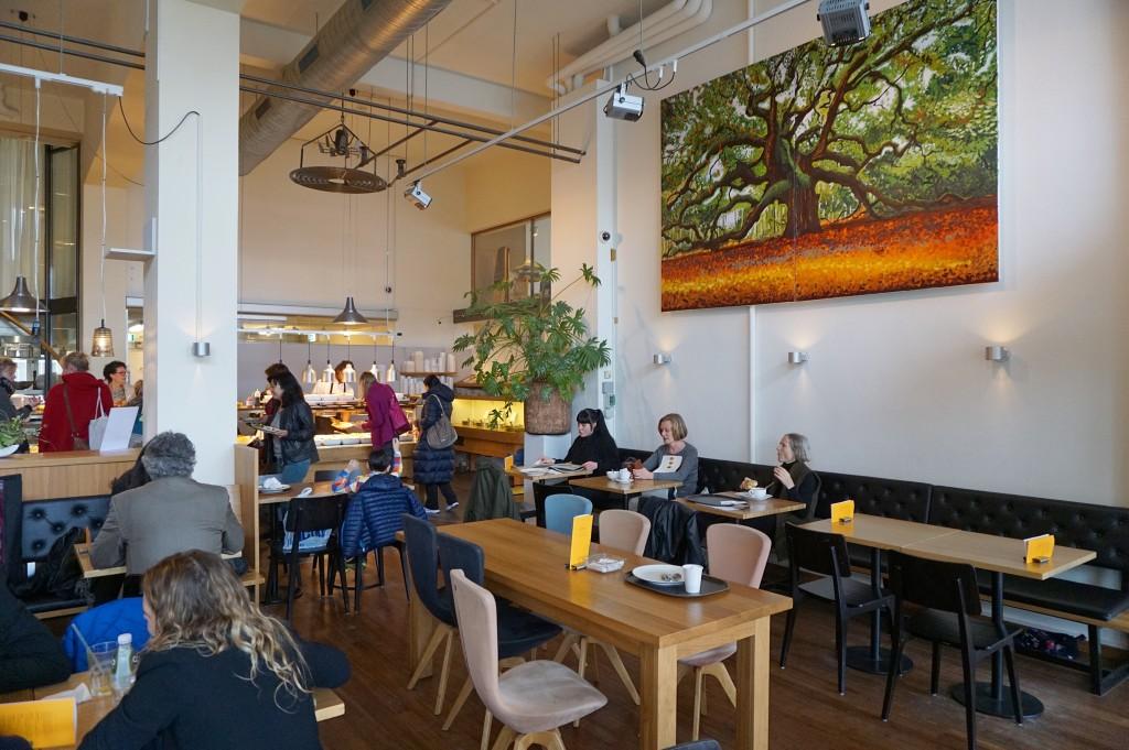 Biologisch en vegetarisch-restaurant-Spirit