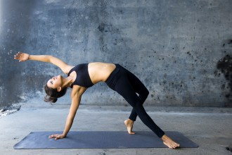 Wild Thing Yoga pose