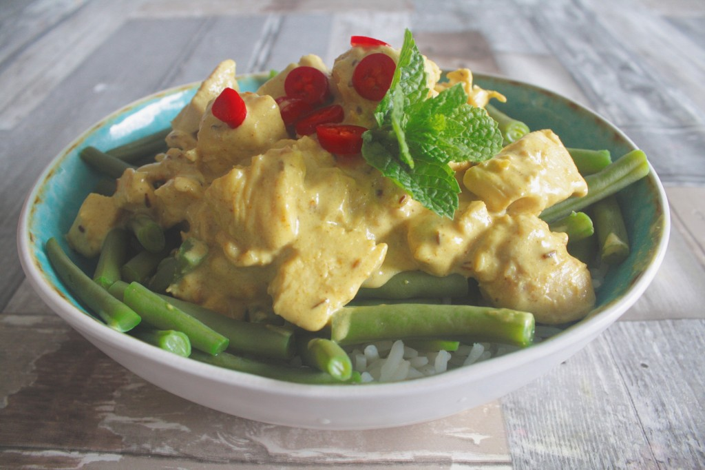 Koken op de camping zomerse curry