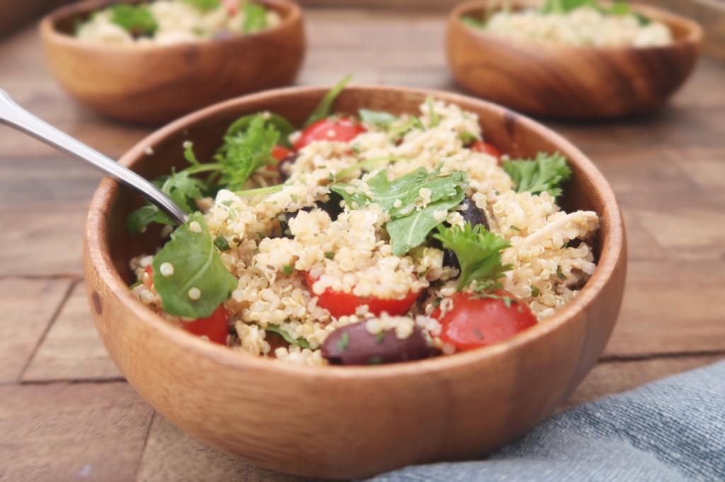 Quinoa salade met kip