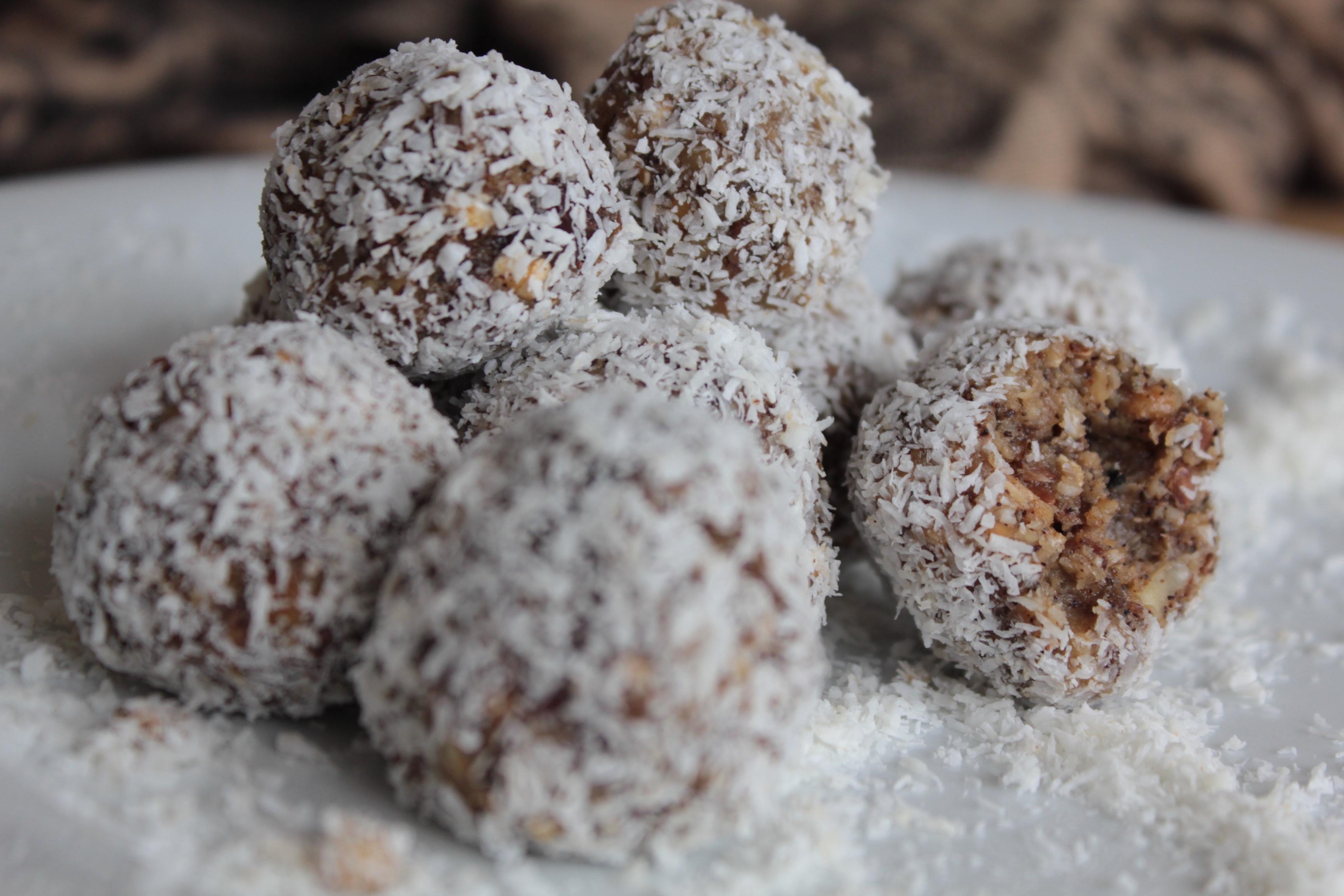 choco coffee bliss balls