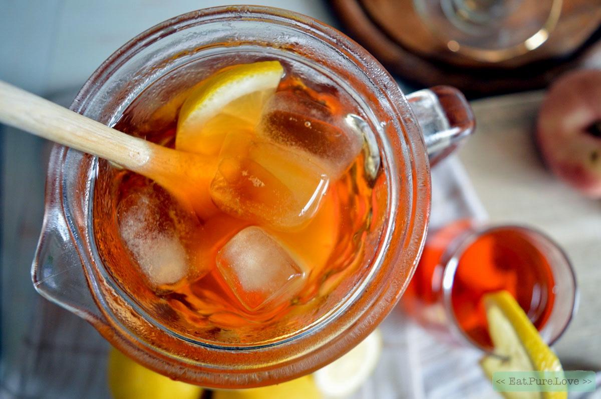 Zelf gezonde ijsthee maken zonder suiker