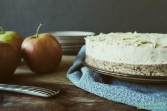 Appeltaart 2.0: vegan kwarktaart met appel