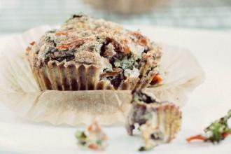 Hartige boerenkool muffins