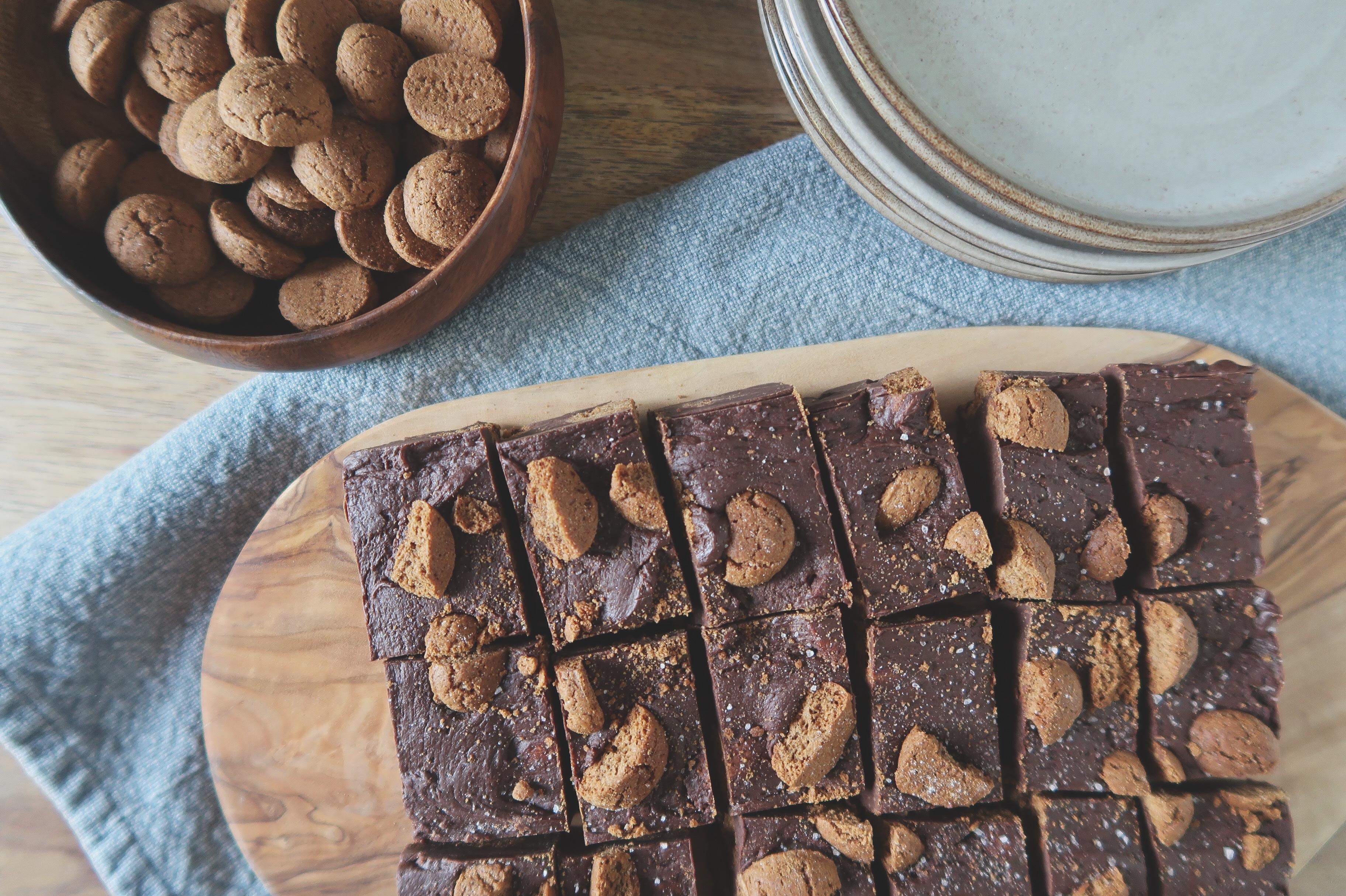 Kruidnoten fudge met chocolade