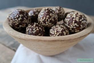 Crunchy bliss balls