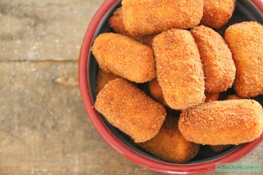 zoete aardappel kroketjes