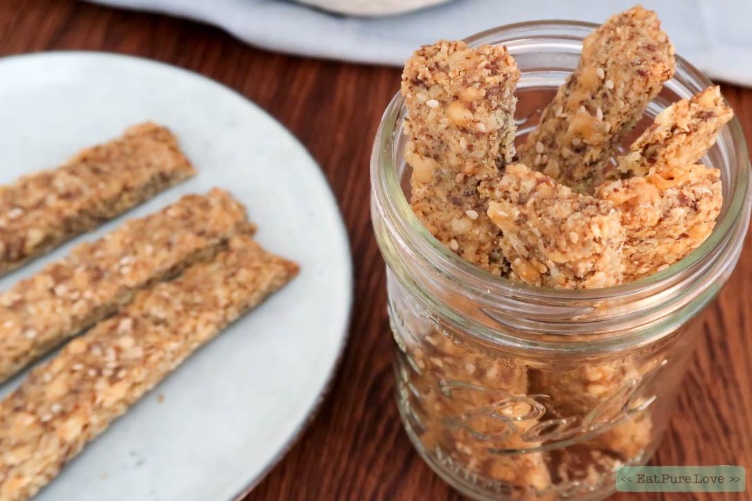 Glutenvrije soepstengels zonder bladerdeeg