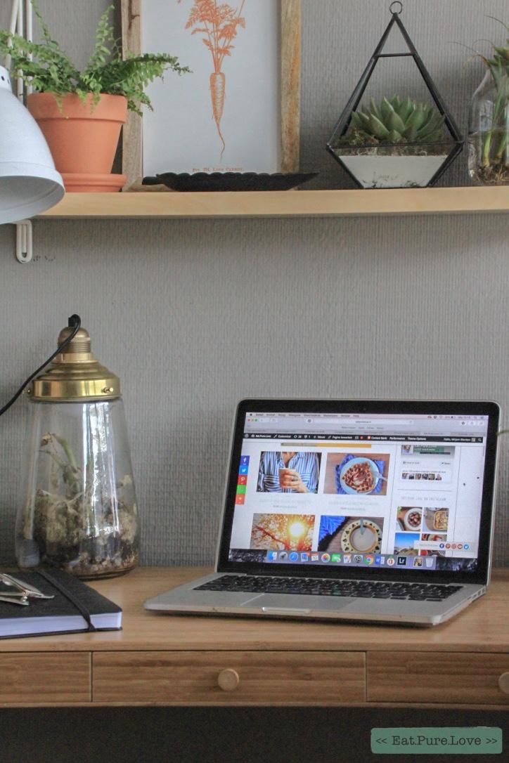 Een kijkje in de keuken- mijn duurzame werkplek aan huis!