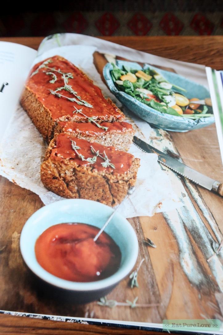 Vegan gehaktbrood van Lisa goes vegan