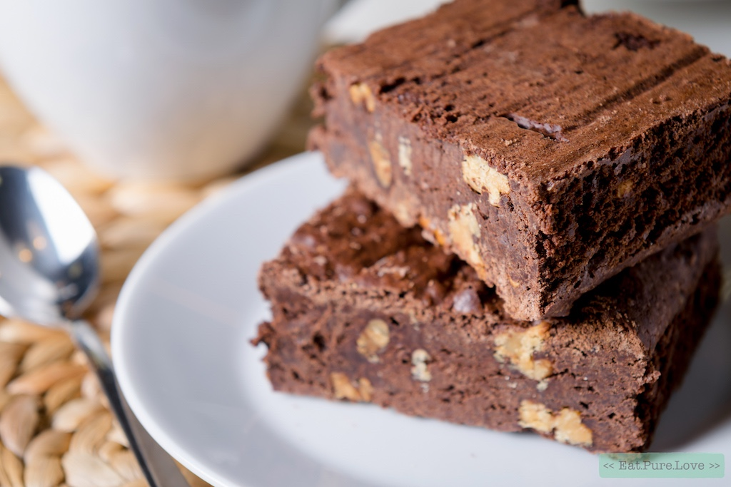 Glutenvrije chocolade pompoen brownies