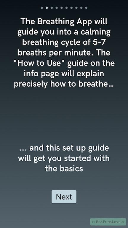 The Breathing App: instant inner peace met deze gratis ademhalings-app