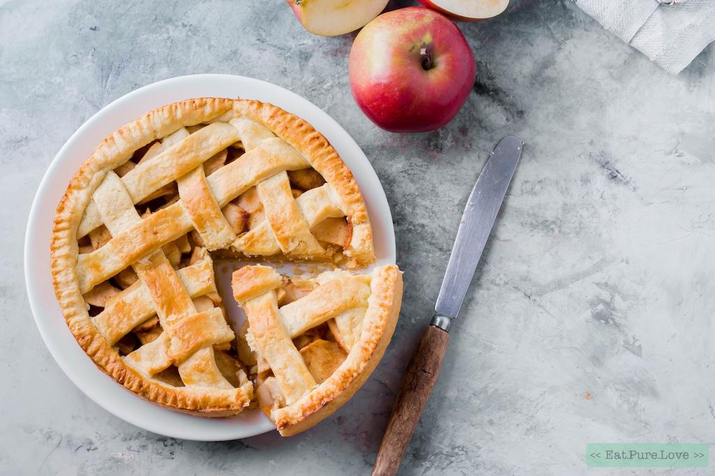 de lekkerste glutenvrije appeltaart, maar dan net even anders! | eat