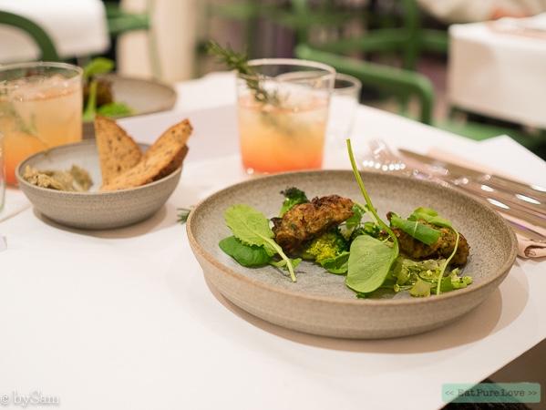 Yerba Amsterdam: a plant forward restaurant!