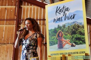 reisboek van Katja Schuurman