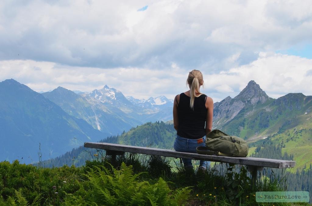 Oostenrijk in de zomer: hiken en yoga in de bergen van Vorarlberg