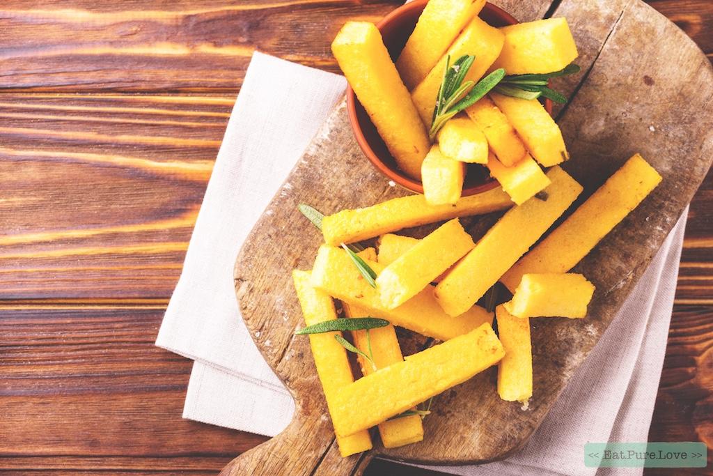 Zo maak je de lekkerste polenta friet!