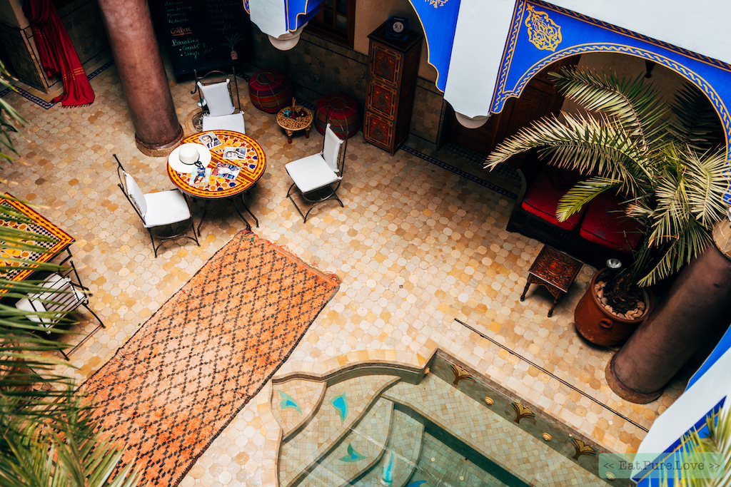yogareis door Marokko
