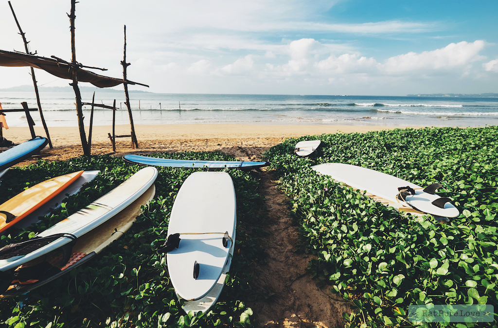 surf spots in Sri Lanka