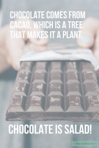 quote chocolate
