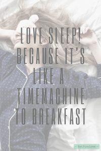 quote love sleep