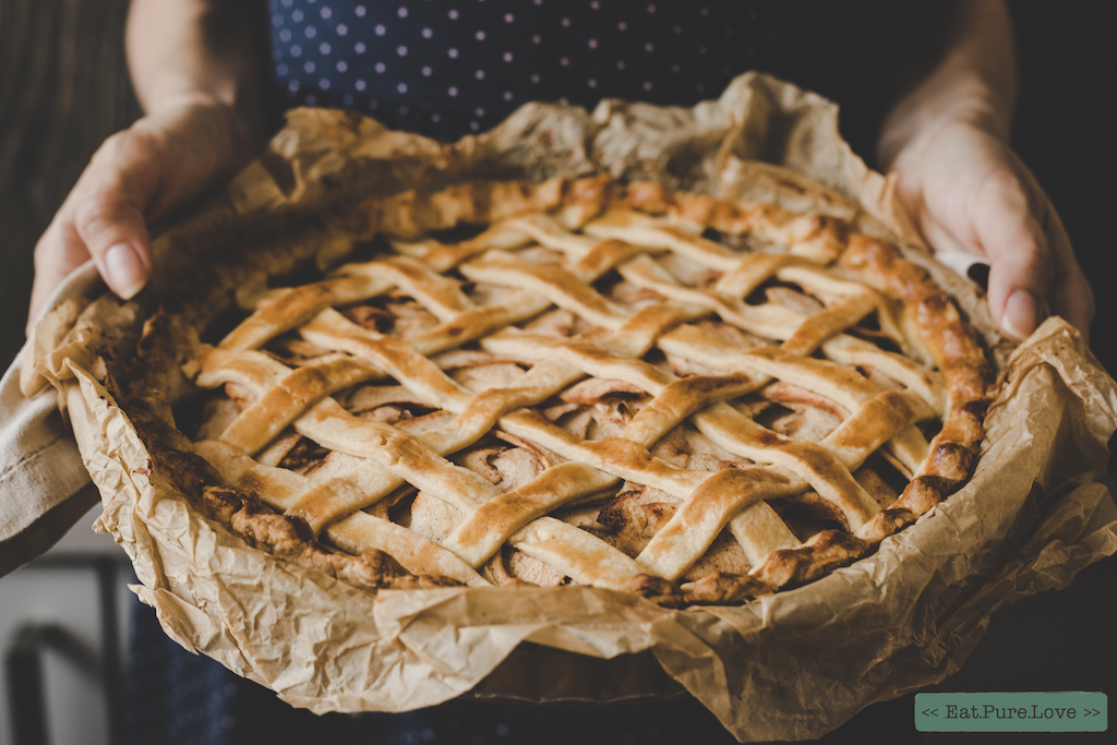 Het recept voor easy peasy glutenvrije appeltaart!