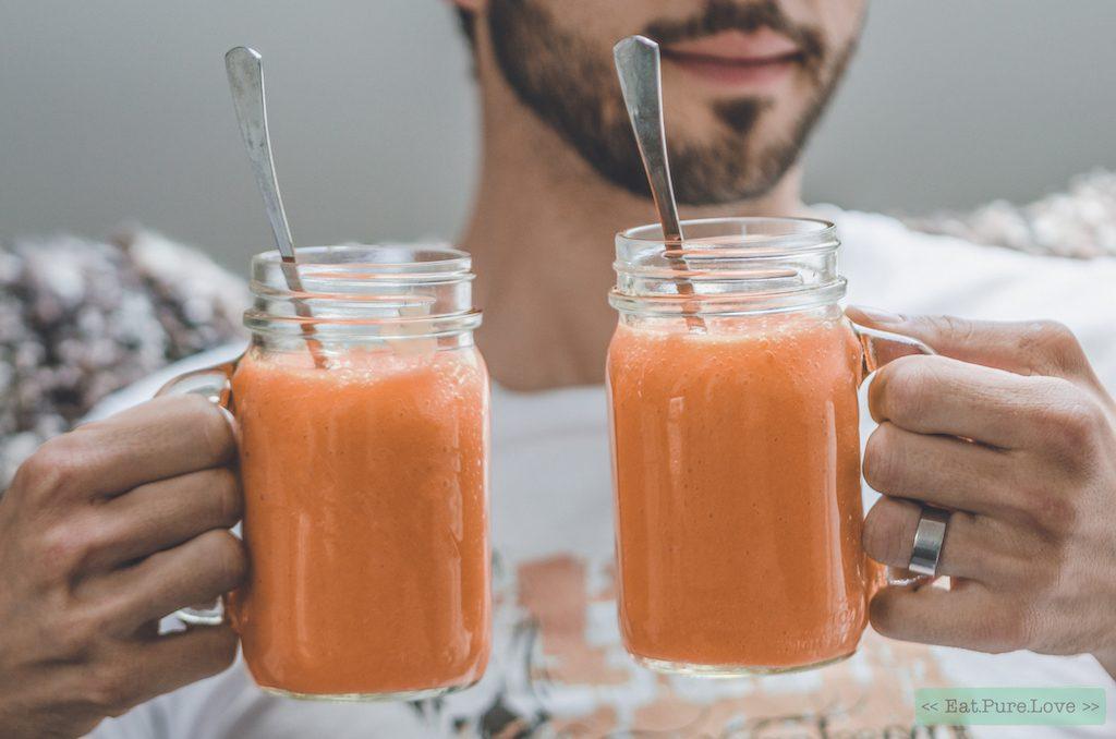 vegan carrot cake smoothie