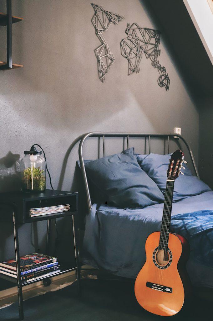 tiener slaapkamer make-over