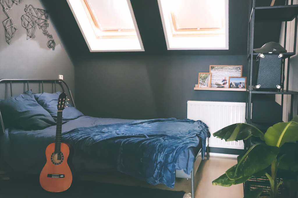 Tiener slaapkamer make-over met Flexa Creations