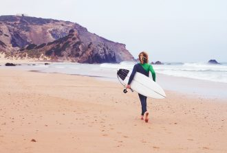 surfen in de Algarve