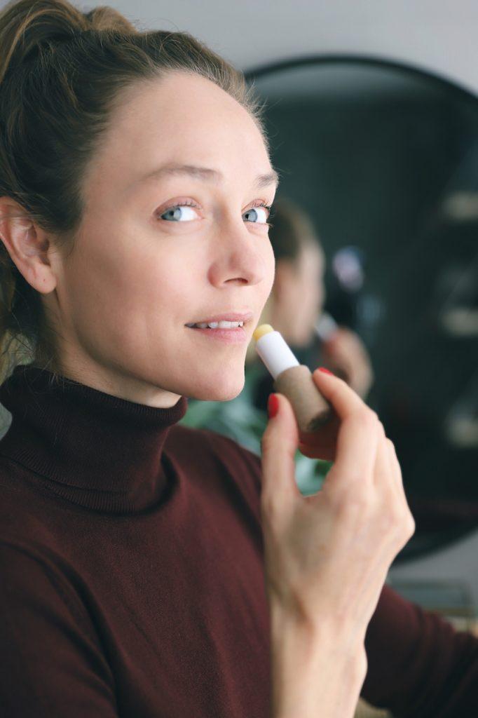 natuurlijke en vegan lippenbalsem